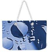 Blue Rain  Weekender Tote Bag by Chris Berry