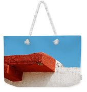 Blue Red And White Weekender Tote Bag