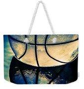 Blue Basketball Weekender Tote Bag