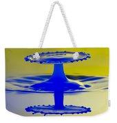 Blue Reflections Weekender Tote Bag
