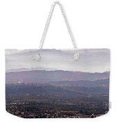 Blue Remembered Hills Weekender Tote Bag