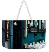 Blue Restaurant Weekender Tote Bag