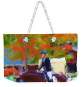 Blue Ribbon Weekender Tote Bag