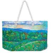 Blue Ridge Meadow Weekender Tote Bag