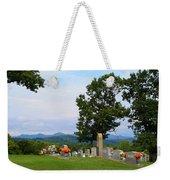 Blue Ridge Mountain Cemetery Weekender Tote Bag