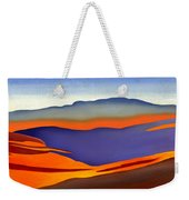 Blue Ridge Mountains East Fall Art Abstract Weekender Tote Bag