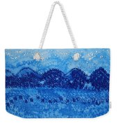 Blue Ridge Original Painting Weekender Tote Bag