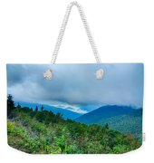 Blue Ridge Parkway National Park Sunrise Scenic Mountains Summer Weekender Tote Bag