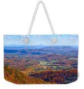 Blue Ridge Parkway Overlook Weekender Tote Bag