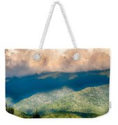 Blue Ridge Parkway Scenic Mountains Overlook Summer Landscape Weekender Tote Bag