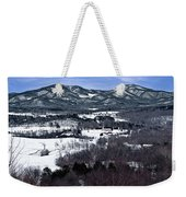 Blue Ridge Vista Weekender Tote Bag