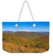 Blue Ridge Vista Weekender Tote Bag