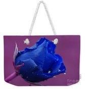 Blue Rose Weekender Tote Bag