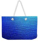 Blue Sand Abstract Weekender Tote Bag