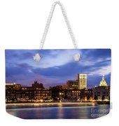 Blue Savannah Weekender Tote Bag