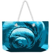 Blue Shell - Sea - Ocean Weekender Tote Bag