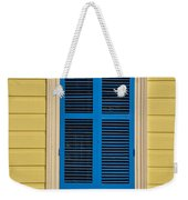 Blue Shutter Door - New Orleans Weekender Tote Bag