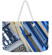 Blue Shutters In New Orleans Weekender Tote Bag