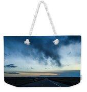 Blue Skies Above Weekender Tote Bag