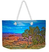 Blue Skies And Canyons Weekender Tote Bag