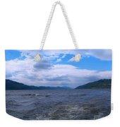 Blue Skies At Loch Ness Weekender Tote Bag