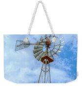 Blue Sky Aermotor Windmill Weekender Tote Bag
