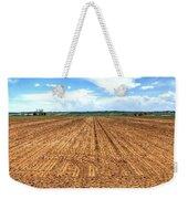 Blue Sky And Field 14567 Weekender Tote Bag