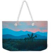 Blue Sky Cacti Sunset Weekender Tote Bag