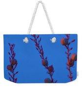 Blue Sky Flowers At Night Weekender Tote Bag