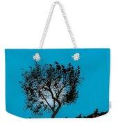 Blue Sky Moon Weekender Tote Bag