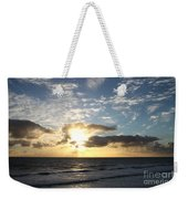 Blue Sky Sunrise Weekender Tote Bag
