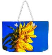 Blue Sky Sunshine Sunflower Weekender Tote Bag