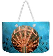Blue Sky Swings Weekender Tote Bag