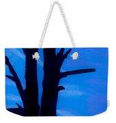 Blue Sky Tree Weekender Tote Bag