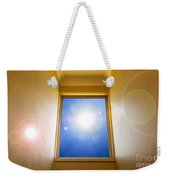 Blue Sky Window Weekender Tote Bag