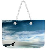 Blue Sky Wing Weekender Tote Bag