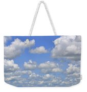 Blue Sky With Cumulus Clouds Day Usa Weekender Tote Bag