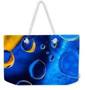 Blue Space Ice Weekender Tote Bag