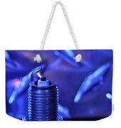 Blue Spark Weekender Tote Bag