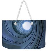 Blue Spiral Staircaise Weekender Tote Bag