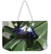 Blue-spotted Charaxes Butterfly #2 Weekender Tote Bag
