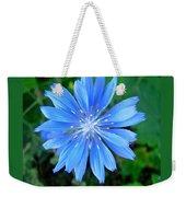Blue Star Weekender Tote Bag