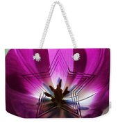 Blue Star Tulip Design 2 Weekender Tote Bag