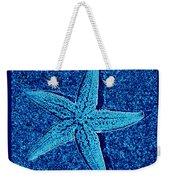 Blue Starfish - Digital Art Weekender Tote Bag