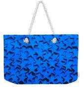 Blue Stars Weekender Tote Bag