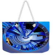 Blue Steel Weekender Tote Bag