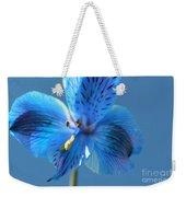 Blue Summer Weekender Tote Bag