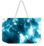 Blue Sunlight Fusion Weekender Tote Bag