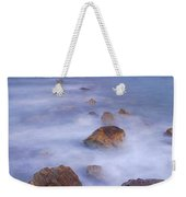 Blue Sunset At The Rocks Weekender Tote Bag