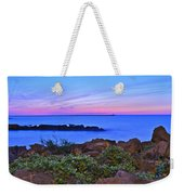 Blue Sunset Weekender Tote Bag by Frozen in Time Fine Art Photography